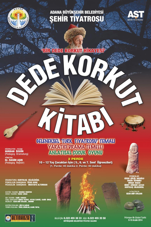 Adana-Sehir-Tiyatrosu-Afis-Dede Korkut Kitabı