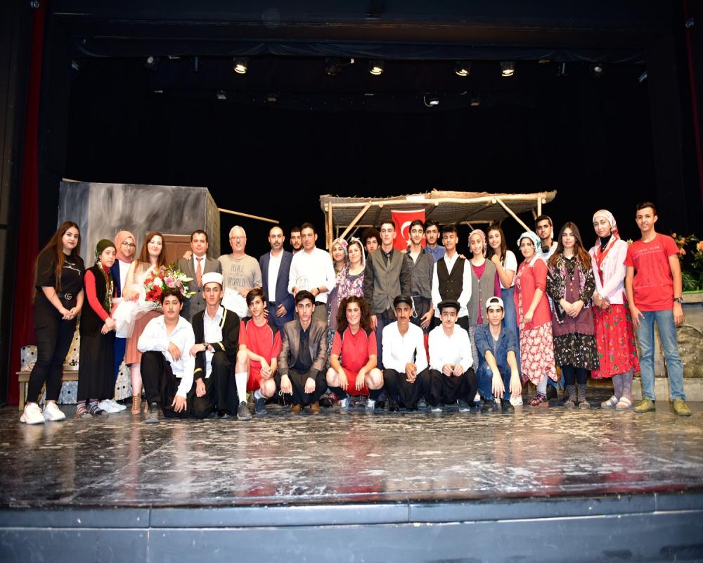 34.Liseler Arası Tiyatro Şenliği